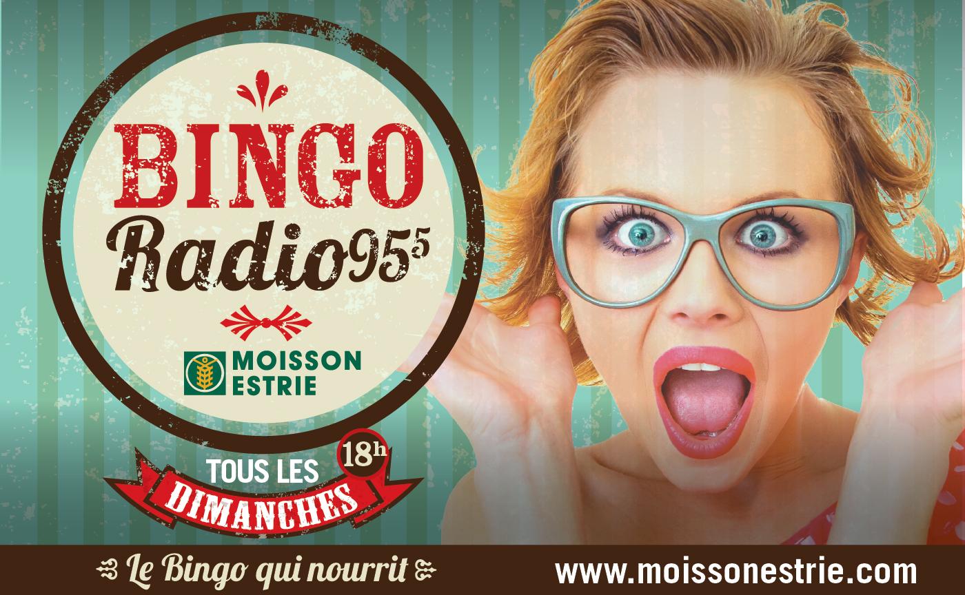 Bingo radio de Moisson Estrie