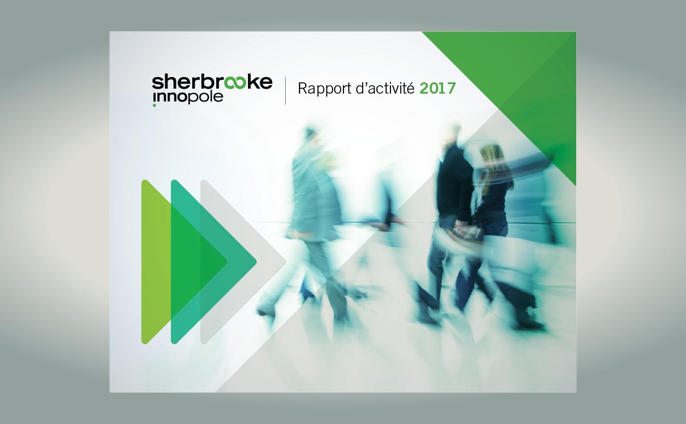 Sherbrooke innopole - Rapport d'activités 2017