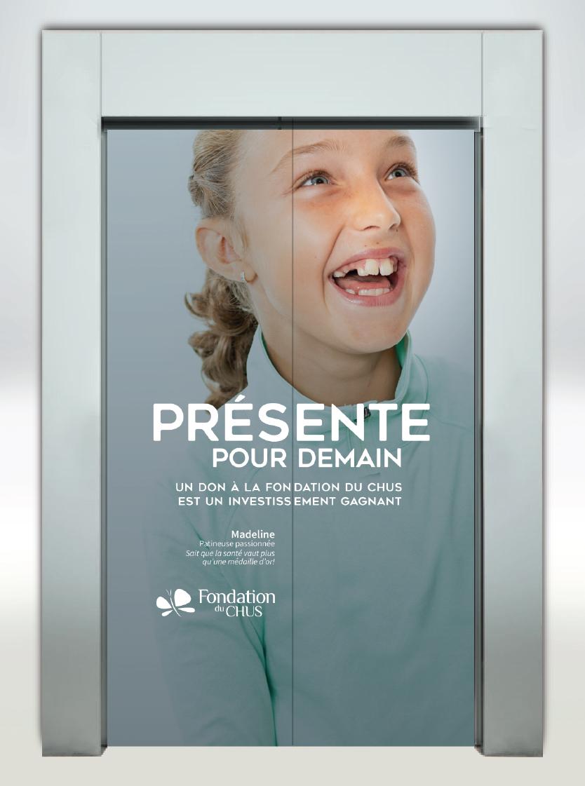 Fondation du CHUS - Porte d'ascenceur